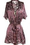 Silk Burnout Robe