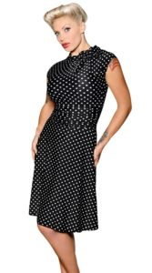 Polka Dot Bombshell Dress