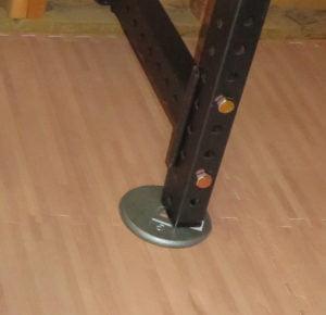 power rack foot