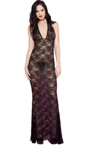 Nyteez Long Lace Nightgown