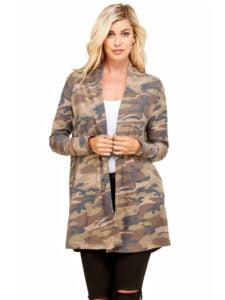 Camouflage Cardigan